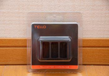 Ryze Tello のバッテリー充電ハブを購入してバッテリーの充電を手軽に。