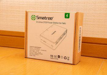 外でもバッテリーを充電。Tello専用のモバイルバッテリー Smatree DT30。