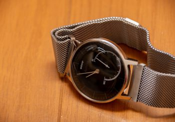 Withings Activite Steelの電池を交換。