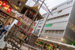 いよいよ京都の夏も始まります。完成した長刀鉾を見てきました。